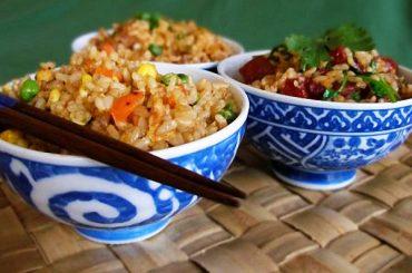 Receta de arroz chino o a la cantonesa