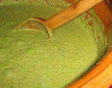Receta del Mole Verde