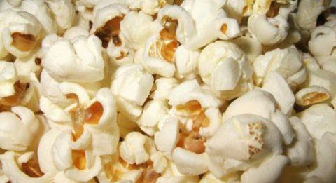 Las palomitas de maíz son un snack muy saludable
