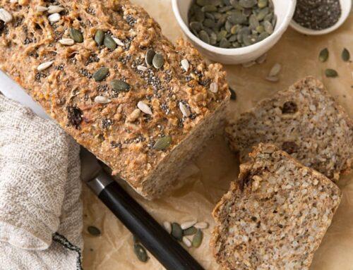 Pan de semillas fácil y rápido