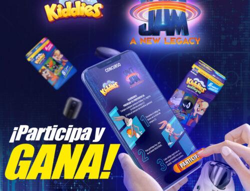 ¡Participa en el Concurso Kiddies Space Jam y gana!