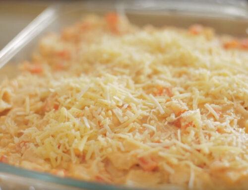 Souffle de pollo y queso